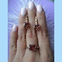 rings and earings sultanit kern -G
